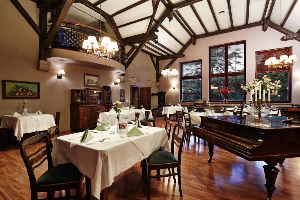 Wnętrze restauracji Prezydent w Chorzowie
